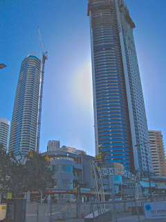 Soul Tower Surfers Paradise Construction june 2011