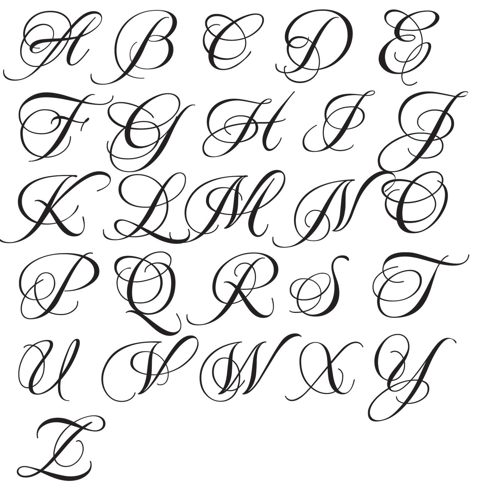 Tattoo Initials Fonts E Related Keywords Suggestions Tattoo