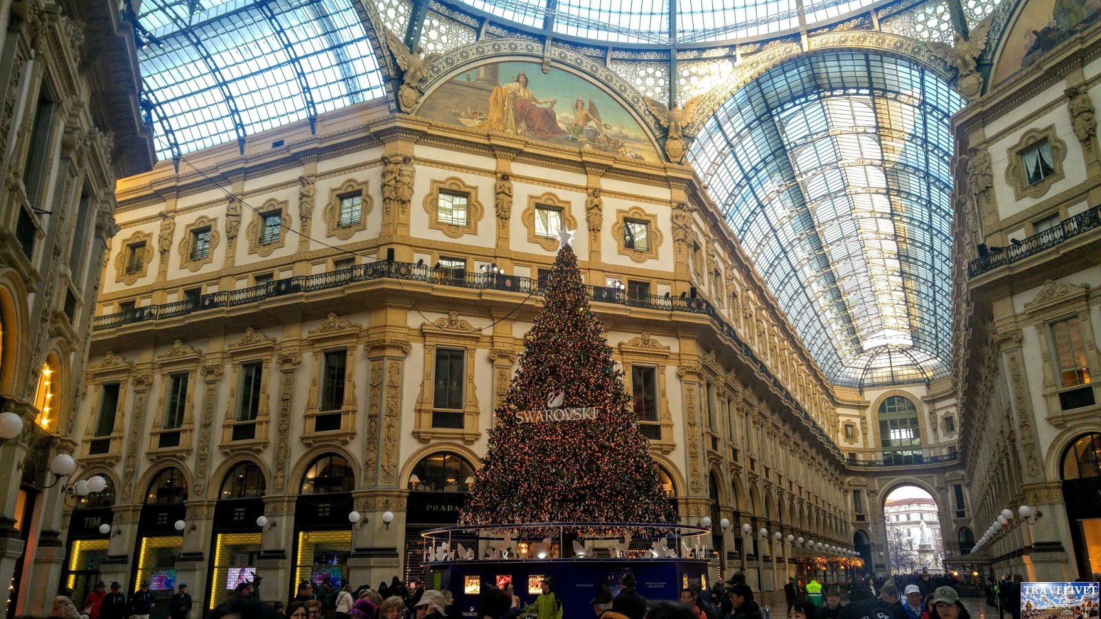 Italie Milan Galleria Vittorio Emmanuelle II