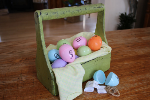 DIY Resurrection Eggs with Printable Verses