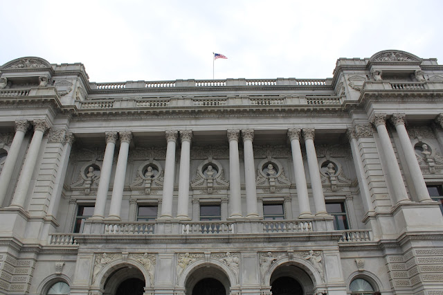 library of congress washington dc exterior architecture