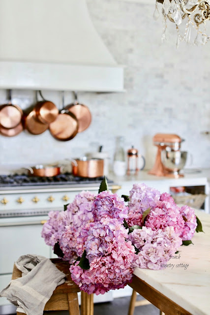 French Cottage Kitchen Style & Copper Pots & Pans Giveaway