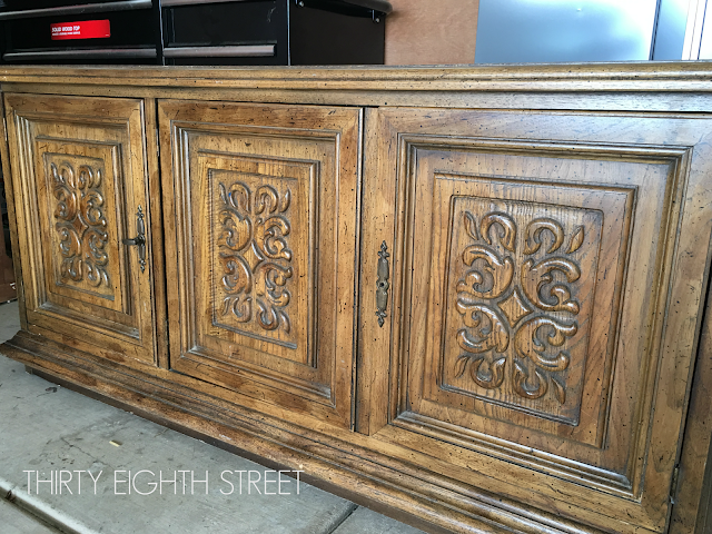 before and after media console, media cabinet ideas, painted media cabinet, painted media console, before and after furniture, diy furniture