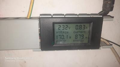 Công suất thực thu được tử máy phát điện gió
