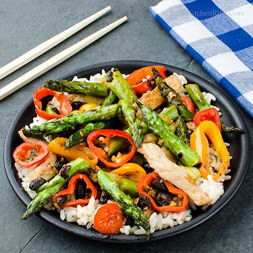 Asparagus and Pork Stir-Fry