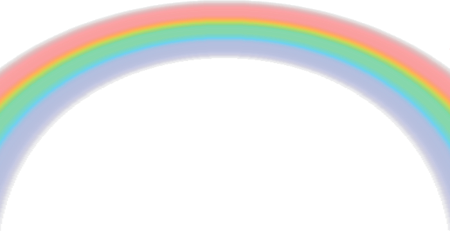 4 Arco Iris Rainbow Con Brillos