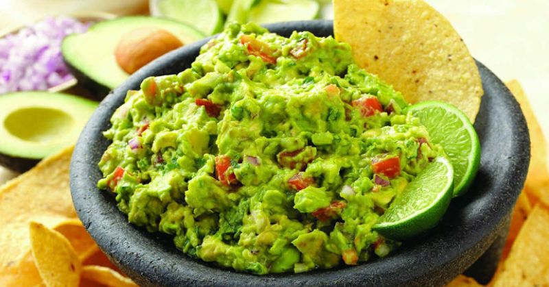 makanan khas meksiko, Saus Guacamole