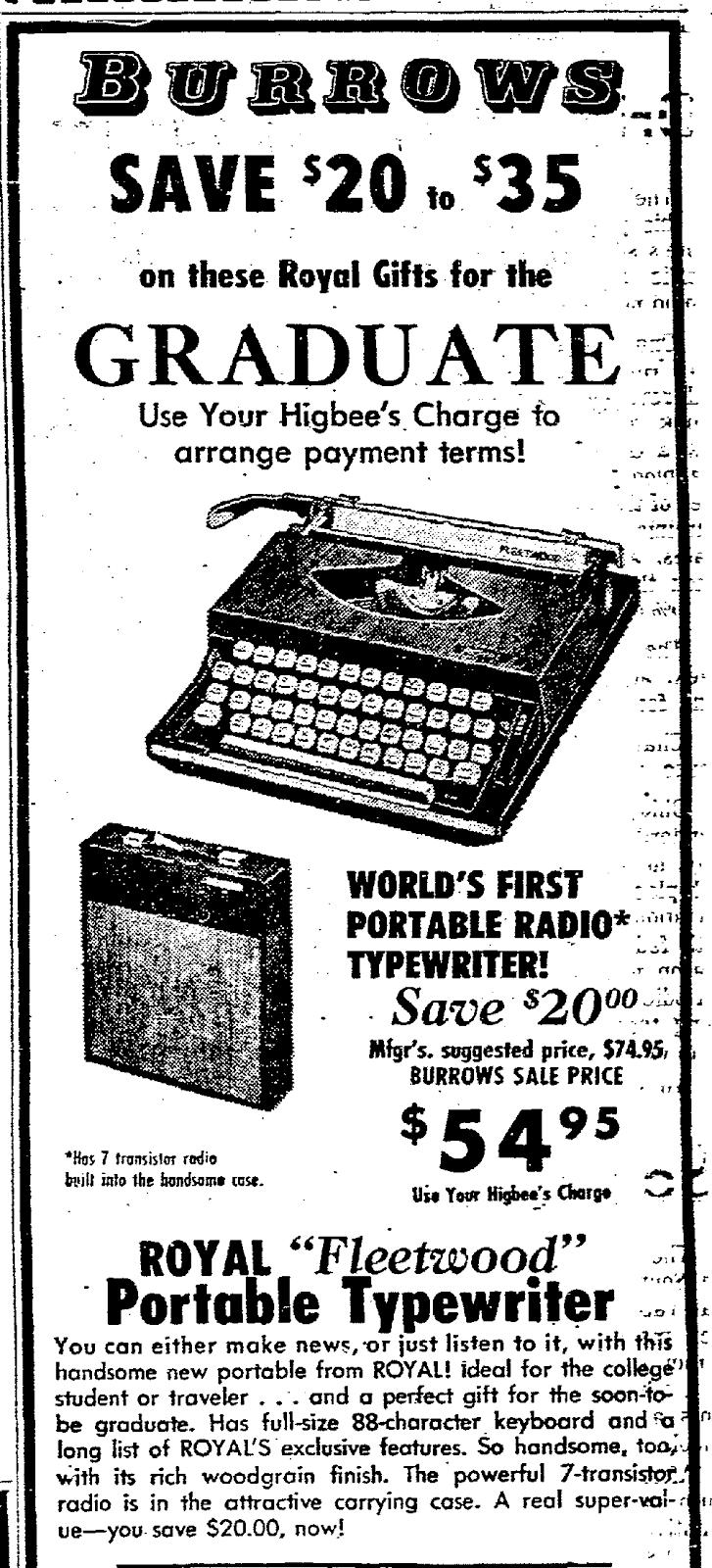 Royal Typewriters: Royal Fleetwood, 1970
