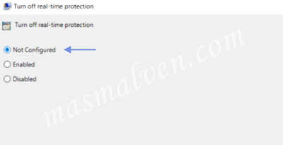 Pengaturan-Windows-Defender-Not-Configured