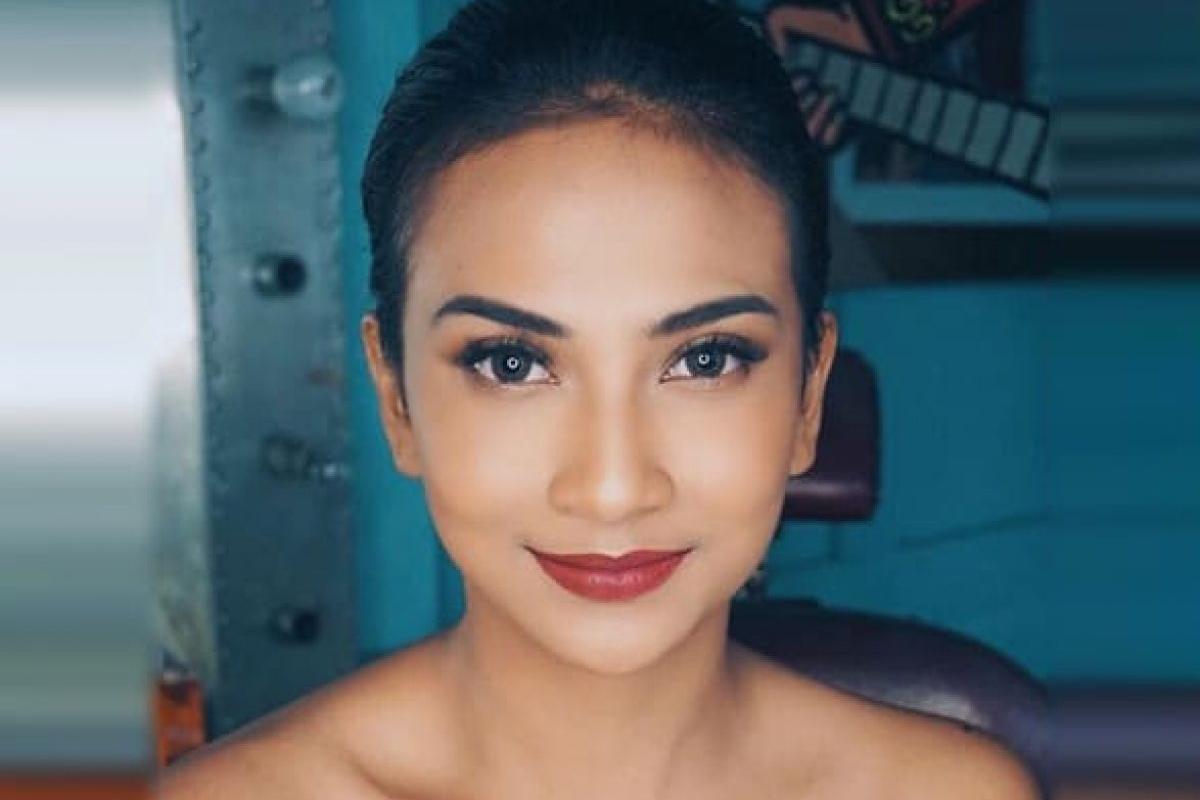 Wajah Cantik Vanessa Anggel