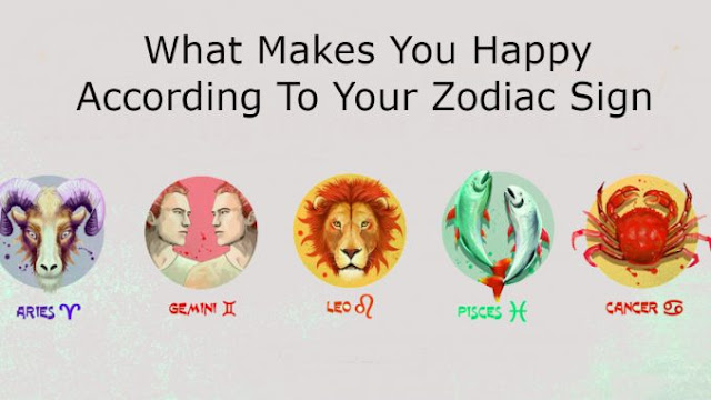 Happy According To Your Zodiac Sign