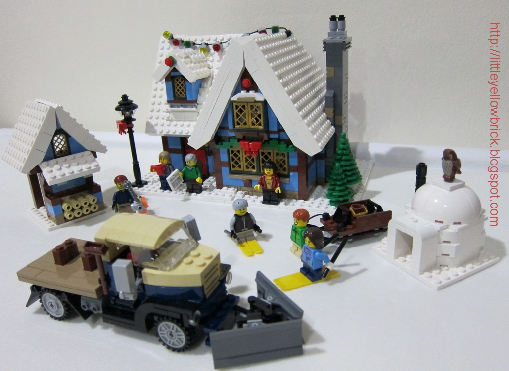 little yellow brick a lego blog our 15th lego project DoubleVerify TPS 10229 LEGO 10229