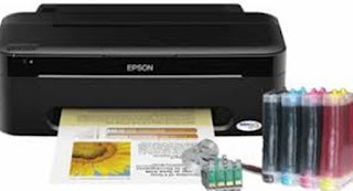 Printer Epson T13 Lampu Nyala Bersamaan