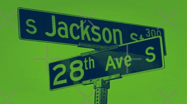 Jackson Street & 28th Avenue, Seattle, Washington by Mistah Wilson