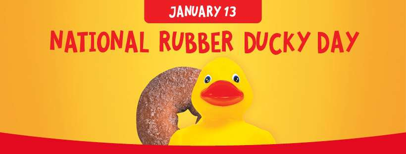 National Rubber Ducky Day Wishes Photos
