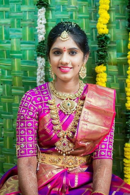 Bride Pachi Mango Haar Choker