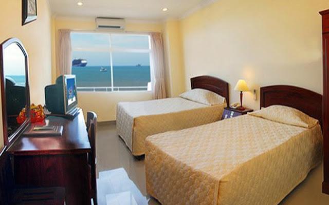 Phòng 2 giường sea view cực đẹp