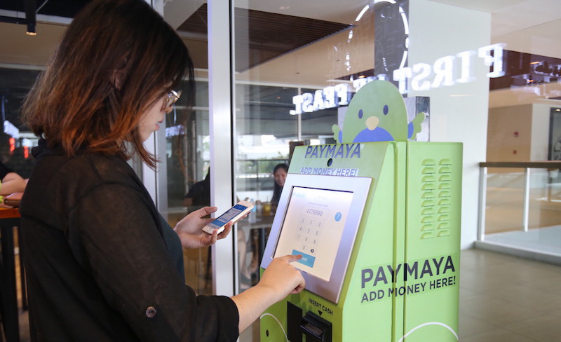 "PayMaya ""Add Money"" Kiosk"