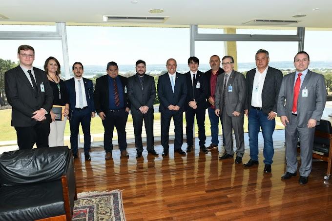 Comitiva que esteve em Brasília na luta pela legalização de garimpos, avalia como positivo as audiências com Deputados e Ministros