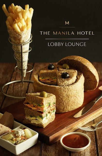 Manila Hotel lobby lounge