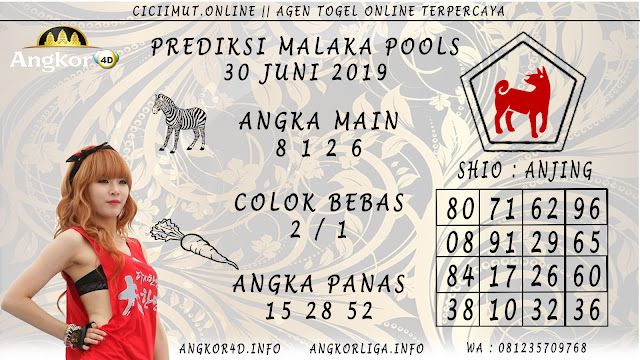 PREDIKSI MALAKA POOLS 30 JUNI 2019