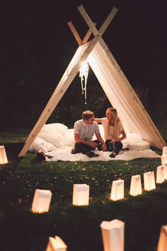 Romantic Propose in The Tent-3