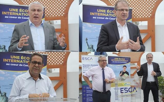 ESCA et GEM célèbrent 20 ans d'alliance et lancent un nouveau Master Affaires Internationales.