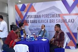 Nono Sampono Nilai Gedung Baru BRI Saumlaki Termegah di Sepanjang Perbatasan Indonesia