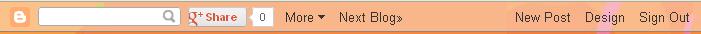 구글 블로그 네비게이션 바 (Navbar : Navigation bar)