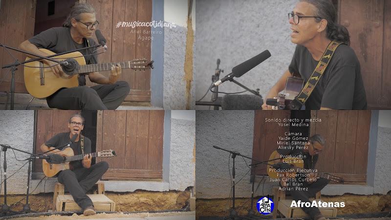Ariel Barreiros - ¨Ágape¨ - Videoclip. Portal Del Vídeo Clip Cubano
