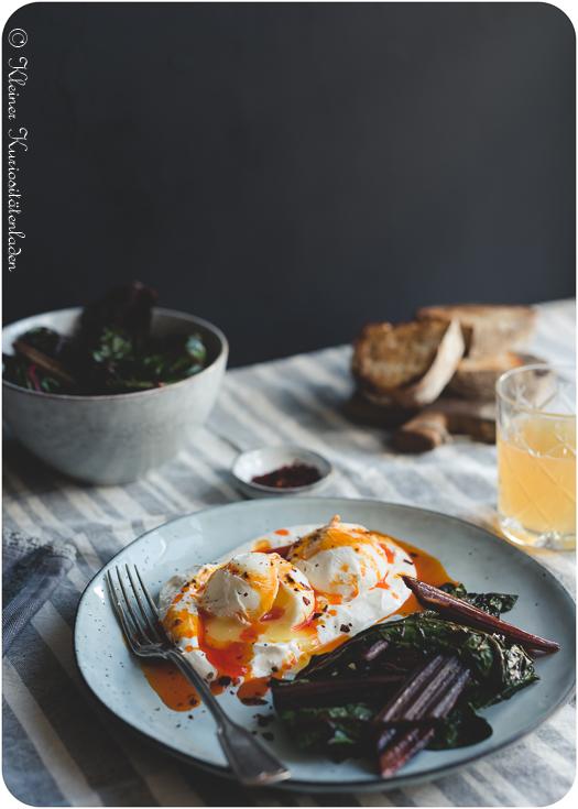 Çılbır ~ türkische pochierte Eier