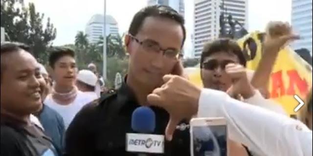 Jurnalis MetroTV Meninggal akibat Sakit Keras, Sosoknya Sempat Viral di Aksi 212
