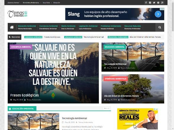 blog temas ambientales