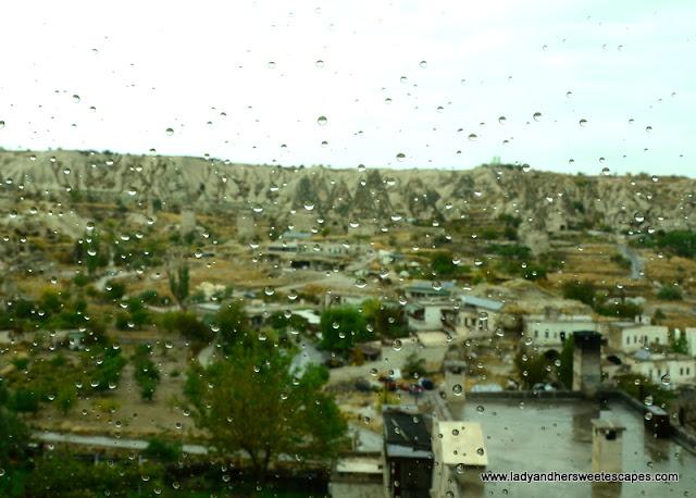 rainy day in Cappadocia