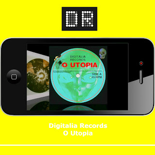 Digitalia Records O Utopia 2017 Hologroove Vinyl Front Cover