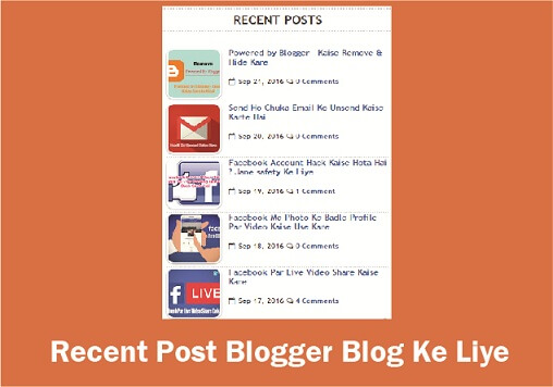 recent-post-widget-blogger-ke-liye