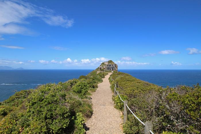 Pfad zum Alten Leuchtturm am Kap der guten Hoffnung