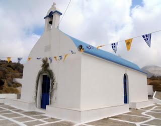 Ο ναός της αγίας Παρασκευής στη Νάξο