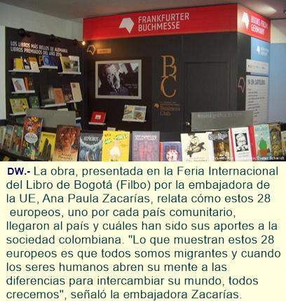 UE publica un libro para celebrar su relación con Colombia