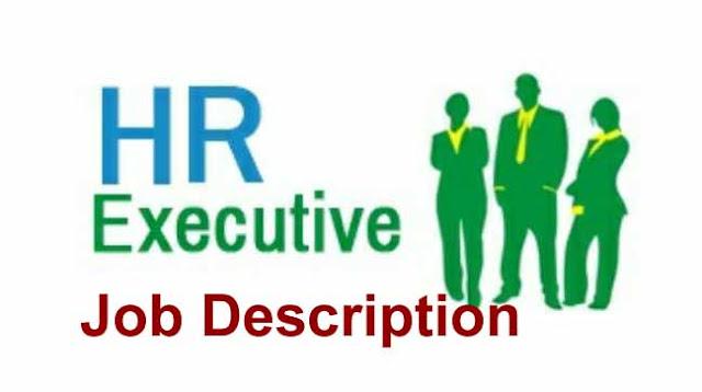 Job Description for  HR Executive I sample I