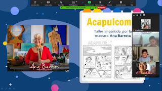 Todo un éxito las conferencias y talleres virtuales de La Nao Acapulco 2020