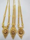 Latest gold Longset Pattaset Designs