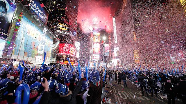 Ano Novo na Times Square em Nova York