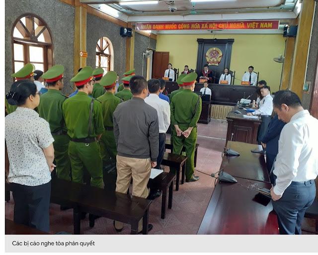 Vụ gian lận điểm thi ở Sơn La: Hơn 90 năm tù giam cho các bị cáo