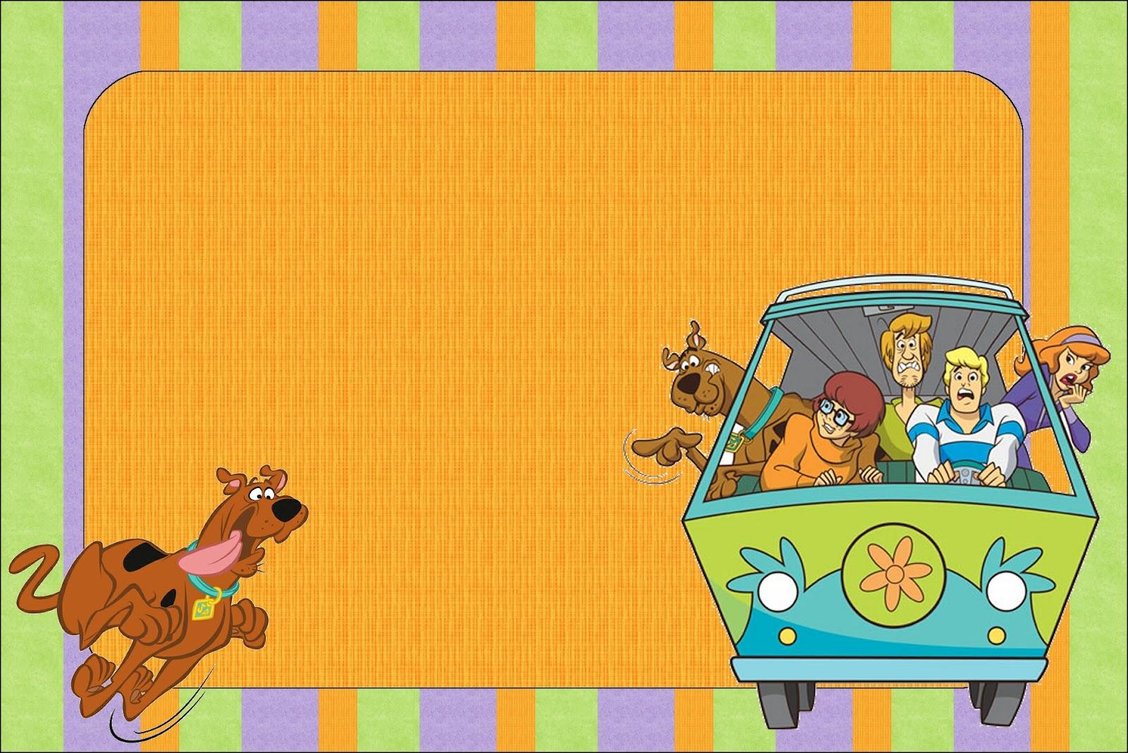Imprimibles de Scooby Doo. | Ideas y material gratis para fiestas y ...