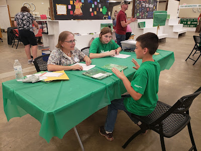 County Fair is more than the ribbons and awards... 4-H Judging