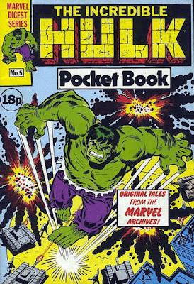 Incredible Hulk pocket book #5