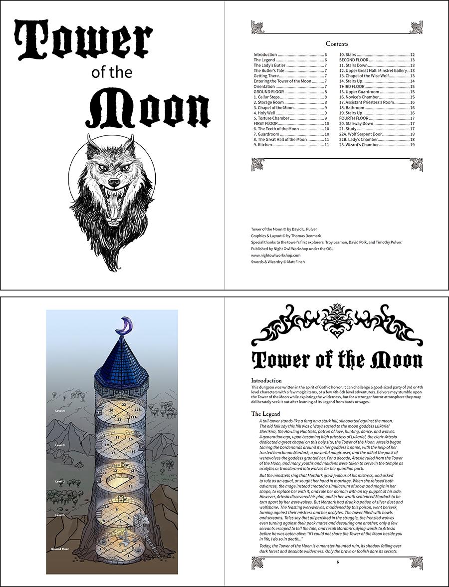 totm page spread