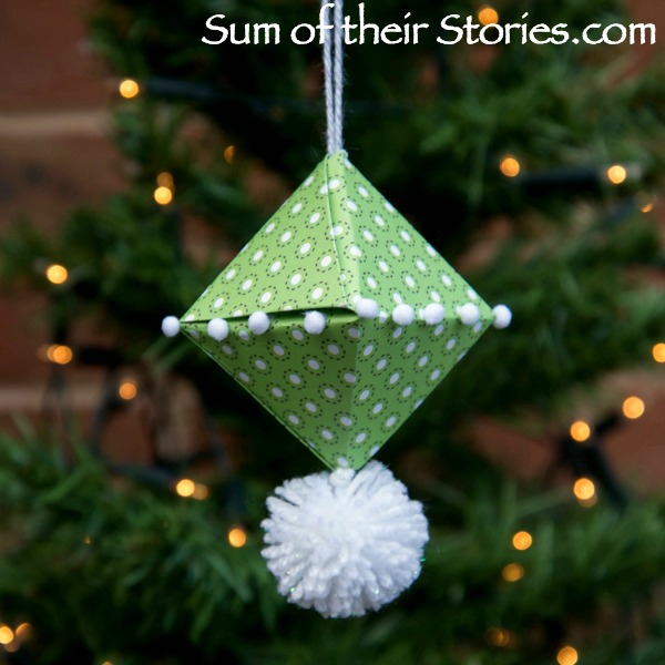 Origami Christmas Ornament