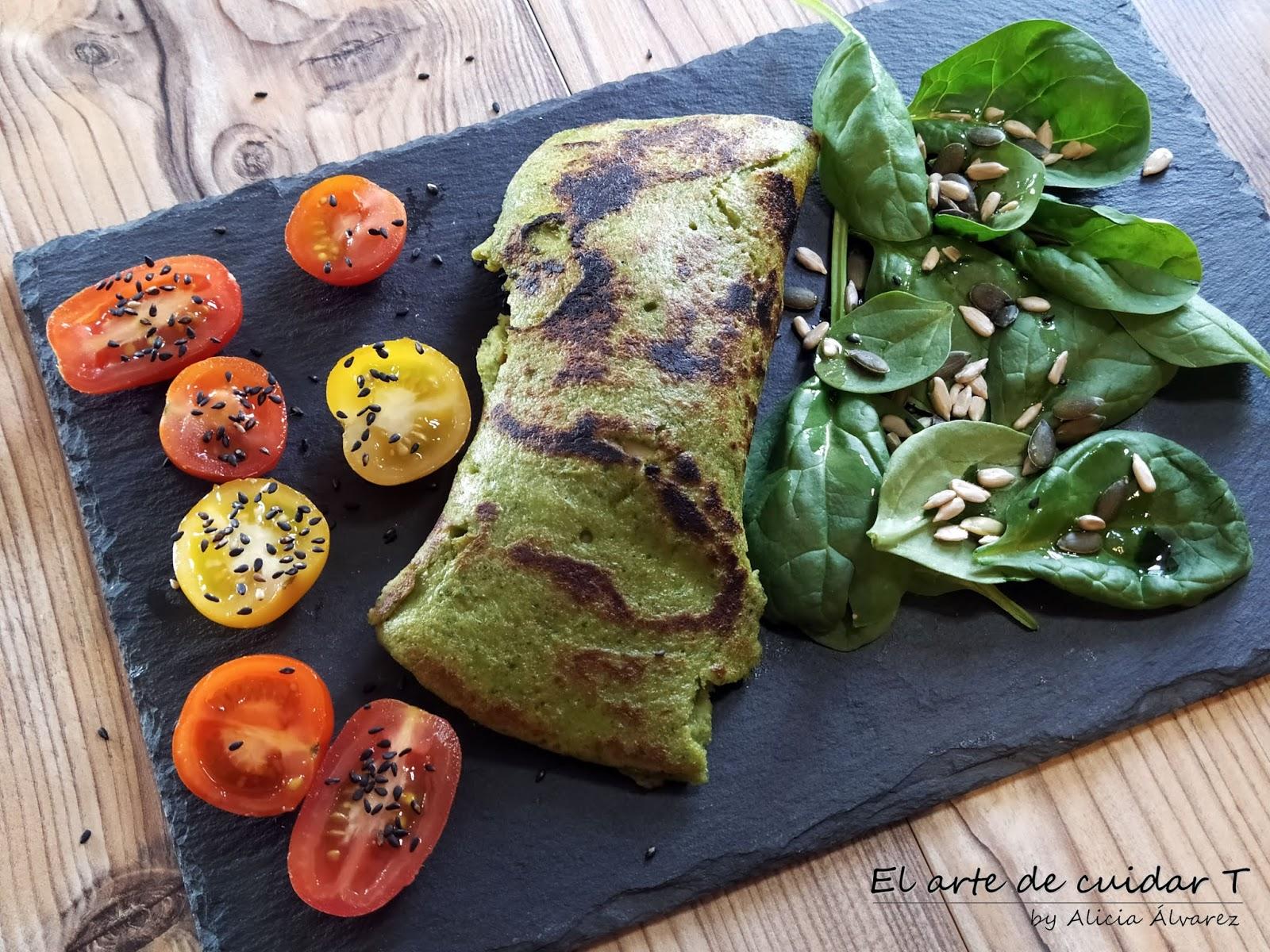 Creps De Espinacas Sin Gluten Ni Lactosa El Arte De Cuidar T